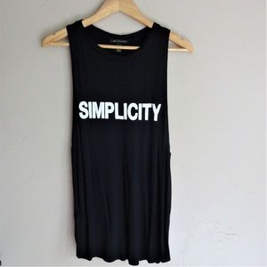 "MNG Collection ""SIMPLICITY"" Muscle Tank"